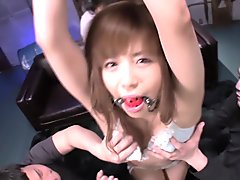 Crazy Japanese girl in Horny Facial, Group Sex JAV movie