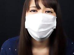 JAPANESE GIRLS WEAR MEDICAL MASKS AND KISS CAMERA FOR YOU PART 2