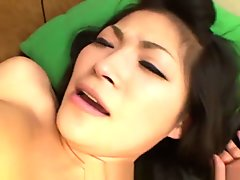 Blasting The Sweet And Petite Brunette With His Cock